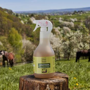Lebermoos für Pferde - bij huidirritatie, schimmels en haarverlies