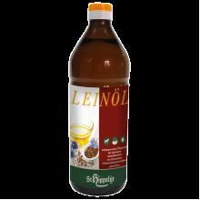 Leinöl - Koudgeperste natuurtroebele lijnzaadolie