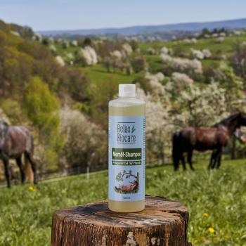 Niemöl Shampoo für Pferde - Shampoo ook bij een geïrriteerde huid