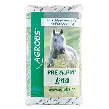 Pre Alpin Aspero - vervanger van of aanvulling op ruwvoer bestaande uit 60 verschillende veldgrassen en kruiden