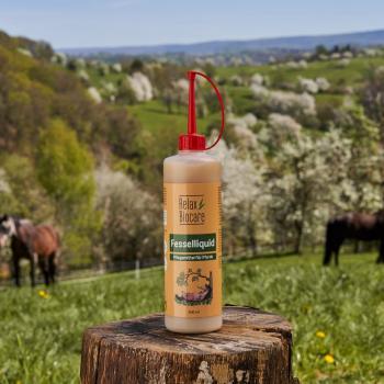 Fesselliquid für Pferde - Bij huidirritatie in kootholtes en aan de benen (o.a. mok, rasp)