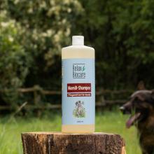 Niemöl-Shampoo für Hunde - Reiniging van een gestreste en beschadigde huid, voor glans en een gezonde vacht
